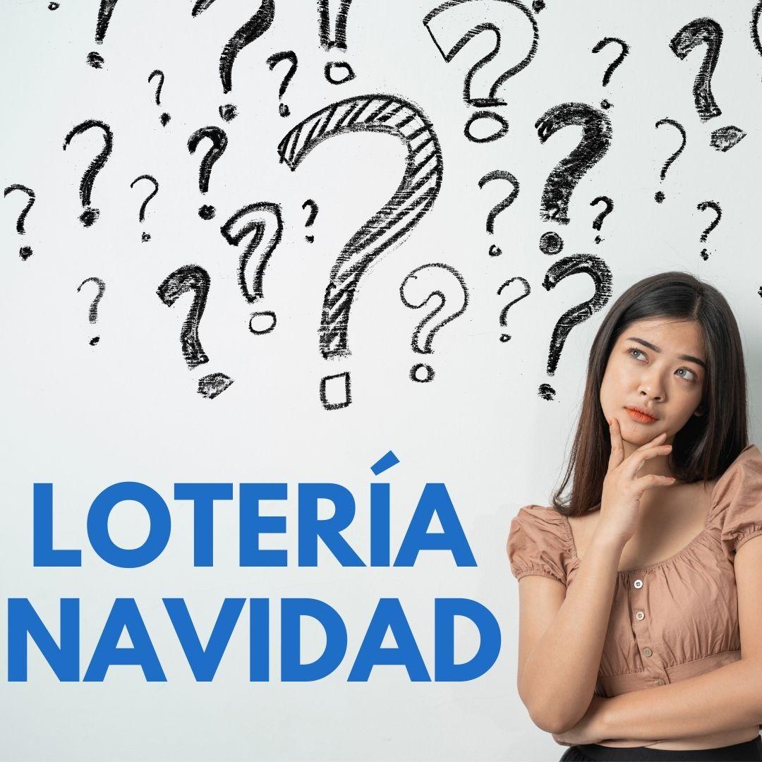 Buscar numero de lotería de navidad